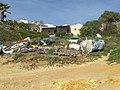 2017-01-25 Fishermans shack, Praia de Santa Eulália.JPG