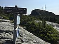 2017-09-11 12 47 39 View south along the Long Trail at its junction with the Halfway House Trail within Mount Mansfield State Forest in Stowe, Lamoille County, Vermont.jpg