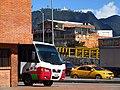 2017 Bogota Monserrate desde la estación Comuneros de Transmilenio en la Carrera 30.jpg