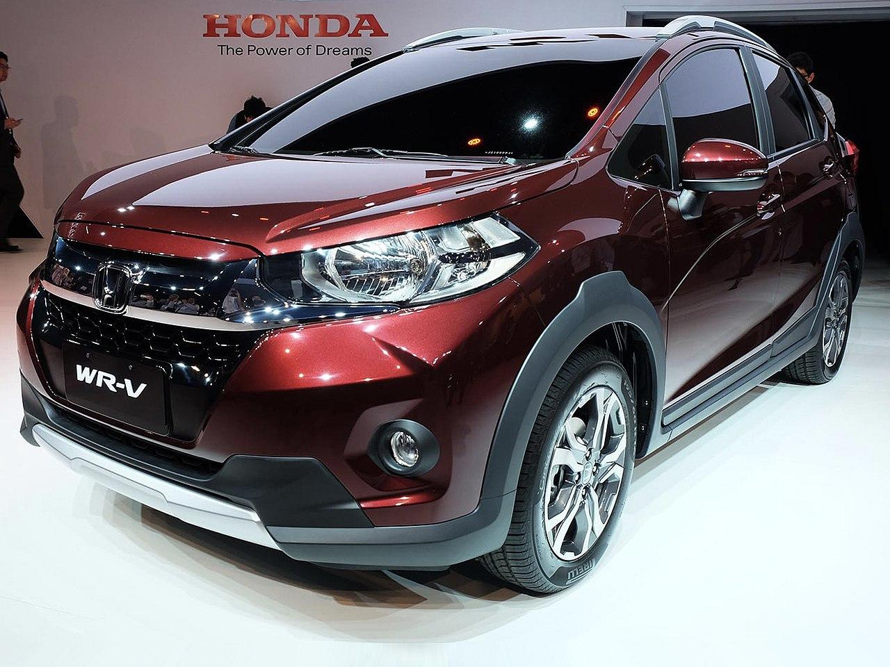 ファイル:2017 Honda WR-V front.jpg - Wikipedia