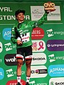 2018 Women's Tour stage 3 021 Coryn Rivera race leader (2).JPG