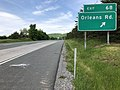 2019-05-17 12 08 50 View west along Interstate 68 and U.S. Route 40 (National Freeway) at Exit 68 (Orleans Road) in Piney Grove, Allegany County, Maryland.jpg