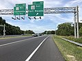 2019-08-19 17 20 43 View north along U.S. Route 29 (Columbia Pike) at Exit 16A (Maryland State Route 32 EAST, Fort Meade) in Columbia, Howard County, Maryland.jpg