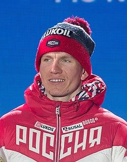 Alexander Bolshunov Russian cross-country skier