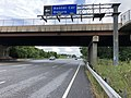 2020-06-20 17 21 46 View south along Maryland State Route 170 (Aviation Boulevard) at the Rental Car Return in Stony Run, Anne Arundel County, Maryland.jpg