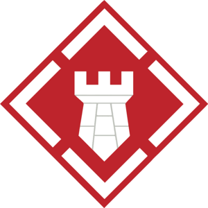 20th Engineer Brigade (United States) - Shoulder sleeve insignia of the 20th Engineer Brigade