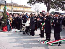 Inaugurazione del ponte ai Carabinieri