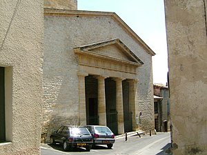 Calvisson - Image: 30420Calvisson Temple 1456