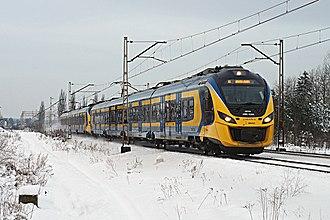 Szybka Kolej Miejska (Tricity) - TModern Newag Impuls near Wejherowo Śmiechowo station