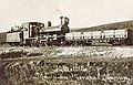 4-6-0 locomotive 'GENERAL MARINA' built in 1911-12 by Kerr-Stuart with waggon of CEMR (Compañía Española Minas del Rif) - Collection Antoni Nebot.jpg