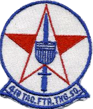 418th Tactical Fighter Training Squadron - Emblem