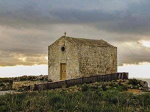 St. Mary Magdalene Chapel, Dingli - View of St. Mary Magdalene Chapel