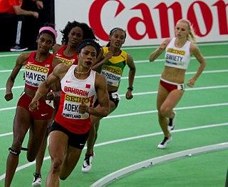 Kemi Adekoya Bahraini hurdler and sprinter of Nigerian descent