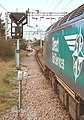 57 310 & 57 303 bring the Stowmarket-Clacton-Stowmarket RHTT working through Hythe station to a stop at Eastgates East Junction, before proceeding over the triangle towards Colchester North . Saturday 25th Oct 2014 - 15621931741.jpg
