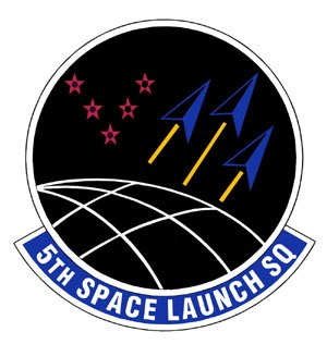 5th Space Launch Squadron - 5th Space Launch Squadronemblem