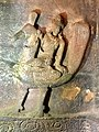 6th century Kartikeya (cave 1), Badami Hindu cave temple Karnataka.jpg