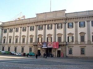 Royal Palace of Milan - Royal Palace of Milan façade