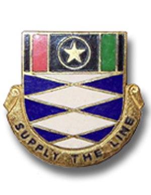 95th SupServ Bn crest