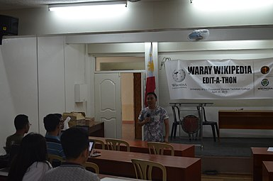 9th Waray Wikipedia Edit-a-thon 04.JPG