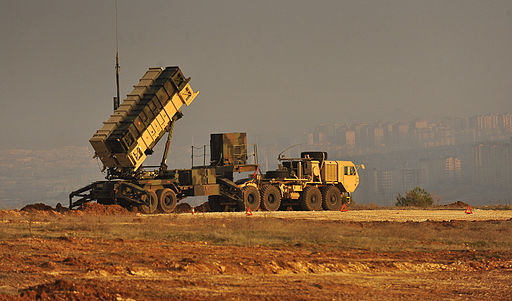 A-patriot-missile-battery-sits-on-an-overlook-at-a-turkish-army-base-in-gaziantep