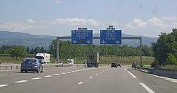 A40 Fr - E Échangeur A40-A42.JPG