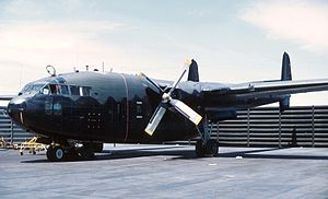 Fairchild C-119 Flying Boxcar - AC-119G gunship