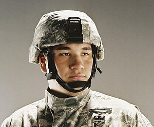 Combat helmet - Image: ACH 005