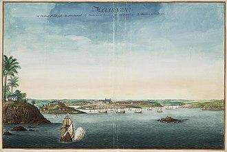 São Luís, Maranhão - View of São Luís, c. 1665