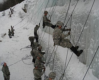 Army Mountain Warfare School - Winter Ascend Training at the AMWS