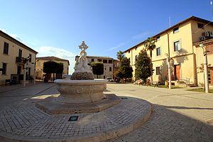 Attigliano - Image: ATTIGLIANO PIAZZA CENTRALE