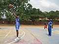 A Ghanaian Basketball Coach Getting Team Ready For Competition.jpg