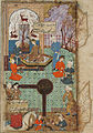 A King Enthroned in a Garden Pavilion; Page from a Manuscript of the Haft Awrang of Jami LACMA M.73.5.577.jpg
