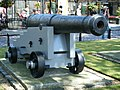 A cannon outside the Tower of London - geograph.org.uk - 1065314.jpg