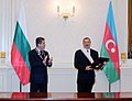 A ceremony was held to decorate Bulgarian President Georgi Parvanov and Ilham Aliyev with high awards 2.jpg