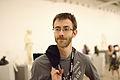 Aaron Halfaker at Wikimania 2015 Reception at Museo Soumaya.jpg