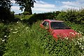 Abandoned car on bridleway - geograph.org.uk - 453353.jpg