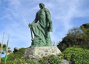 Abd al-Rahman I - Statue of Abd al-Rahman I in Almuñécar, Spain