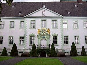 Wadersloh - Portal of Abtei Liesborn in Liesborn, a part of the municipality of Wadersloh
