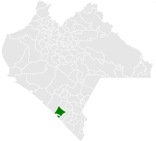 Acapetahua Municipality in Chiapas, Mexico