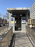Accessible Elevator at Exit B of Dajiaoting Station, Beijing Subway.jpg