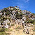 Aceso do miradoiro do monte de Goía (Lousada).jpg
