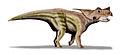 Achelousaurus BW.jpg