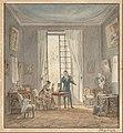Achille-Louis Martinet - Salon Interior with Gabriel d'Arjuzon Playing the Violin and Pascalie Hosten, Comtess d'Arjuzon, Pla... - Google Art Project.jpg