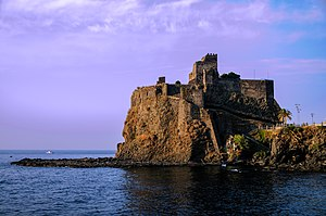 Castello Normanno (Aci Castello) - Image: Aci Castello Sicily Italy Creative Commons by gnuckx (5085398127)