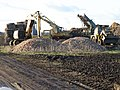 Activity at the sugar beet clamp - geograph.org.uk - 1708365.jpg