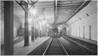 Adams Square station - Adams Square station in 1897