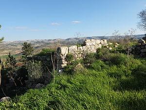 Adullam - Ruin of Adullam