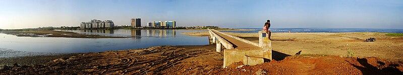 Broken Bridge in Chennai