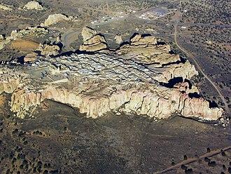 Acoma Pueblo - Acoma Pueblo Sky City aerial view