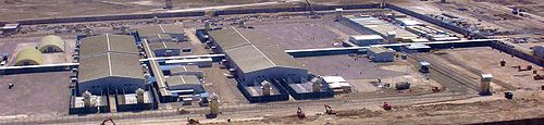 Aerial view of the new Bagram Theater Internment Facility
